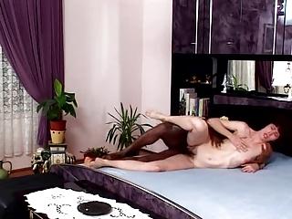 mature furry kitty - so hairy vagina &; ass