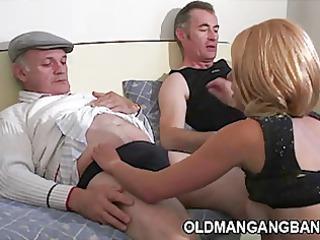 grandpas fucking escort lady