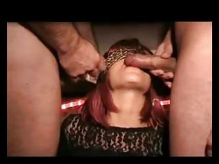 bukkake sperm whore lady inside the swingers club