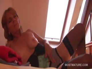 sensual grown-up rubbing starving kitty into
