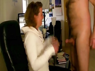 chocolate babe sucks off her mans libido the time