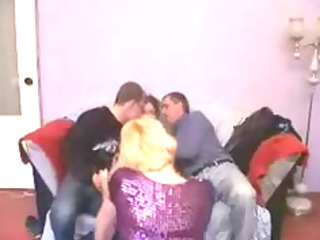 grown-up nonnarrow gets fluky in bunch fuck