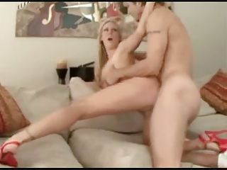 lady gives permission to creampie