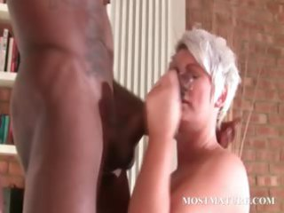 stockinged older gangbangs ebony uneasy penis