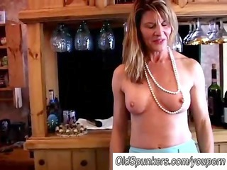 fit mature swinger fucks her juicy gap
