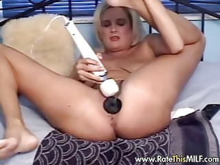 filthy babe stuffing her arse and pussy with toys