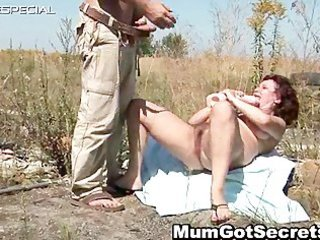 desperate woman takes her hairy muf banged part1