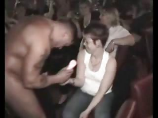 cfnm celebration with desperate milfs