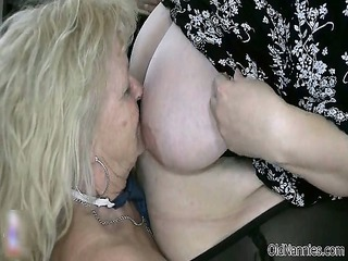 blonde elderly worships having homosexual woman