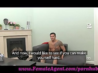 femaleagent. chick cums all over studs dick