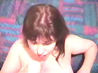 older woman strokes dick