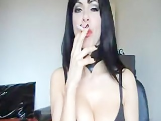 gorgeous cam smoking mature angel