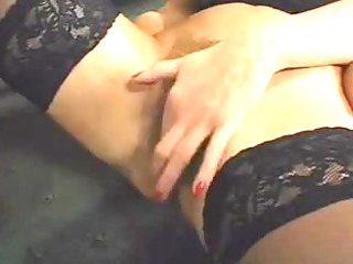 superb curly mature squirts whilst piercing