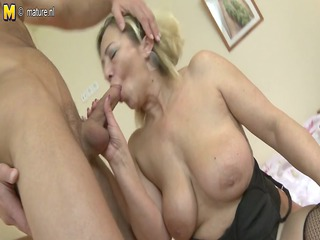 aged mamma receives fucked by her toyboy