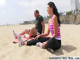 india summer mature babe plus yoga - 1