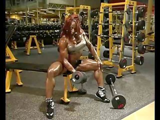 shocking sluts with muscles