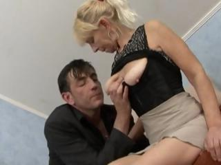albino old gets a cock to lick and drill and get