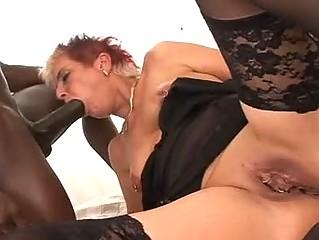 your mom licks dark cock