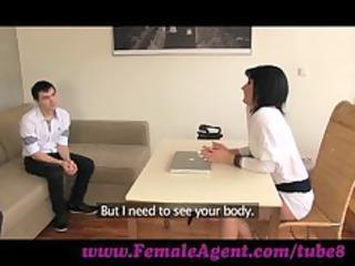 femaleagent. lady casts amateur nervous stud