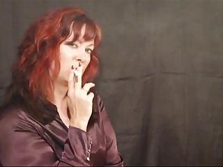 awesome cougar smoking like