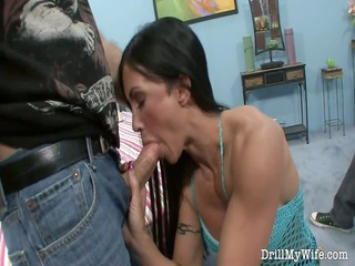 lover lets a stranger fuck his maiden on bunk