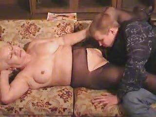 granny albino granny inside nylons licks and