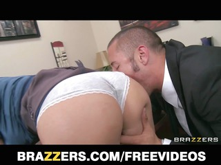 horny blonde boss begs her employee to drill her