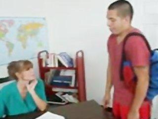 david loso schools beautiful milf lecturer on desk