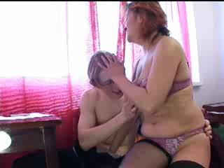 russian cougar and male