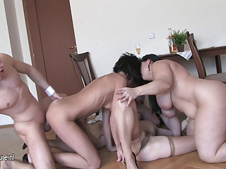 mature whore ladies gang-banged by one strapping