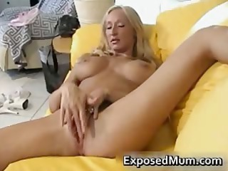 bigtits steamy mother enjoys with her vag part3