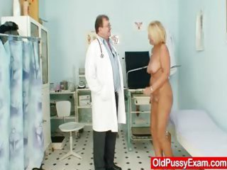 hot desperate granny chest and pussy gyno checkup