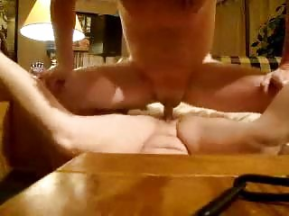 my wife shows sperm after i fucked her