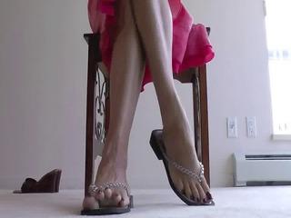 elderly legs please