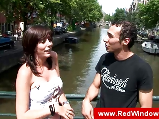 natural amsterdam mature slut sucks tourist