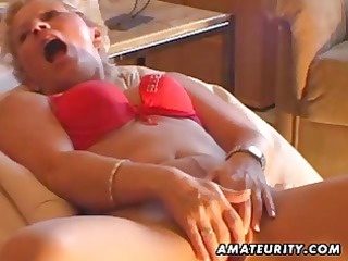 inexperienced babe masturbates, sucks and fucks