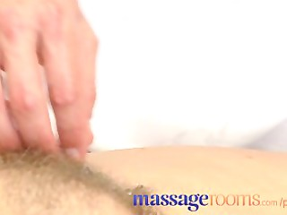 massage rooms grownup woman with shaggy cave