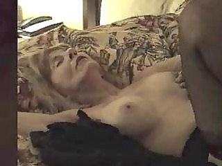mature bitch creampied by brown cock
