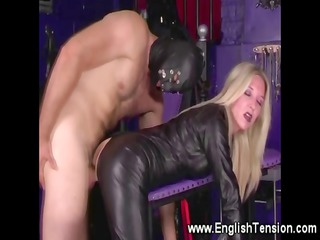 wife rules over subject in the playroom