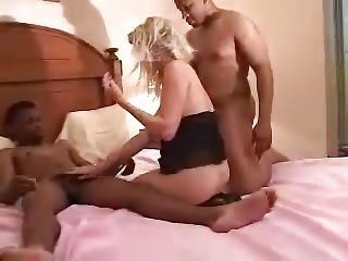 pregnant slut lady analyzed by blacks inside