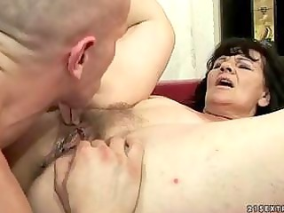 ugly grandma acquiring banged uneasy by reno78