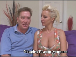 sensual mature chick gang-bangs more fresh cock
