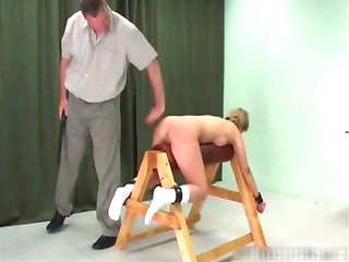 blond woman lika acquires bound and spanked part4