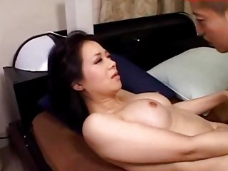 naughty lady licking inexperienced boy driving on