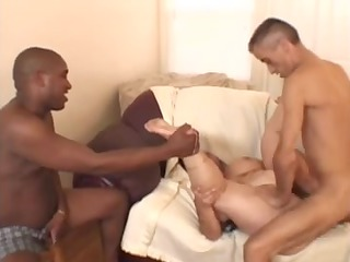 giant lovely womangranny acquires two fellows and