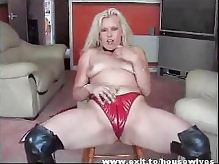 dutch mother spreading so impressive pussy and