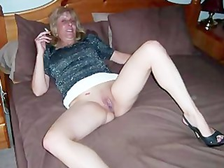 older fresh taking exposed off her oral skills