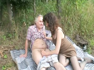 al fresco mature duo drill
