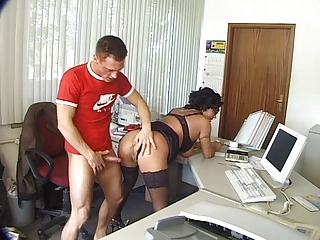 grown-up fucked hot into the bureau